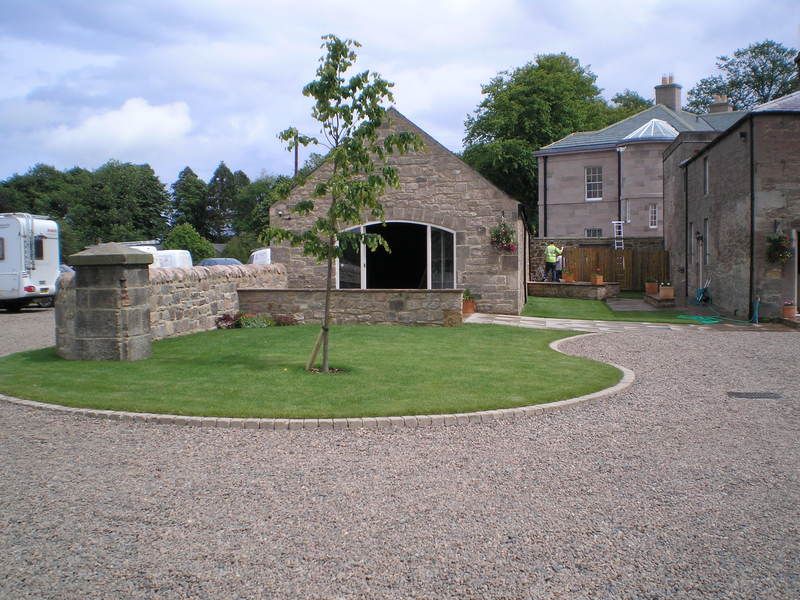 Doxford Hall Turfing
