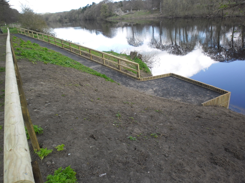 Hexham Disabled Fishing Platform