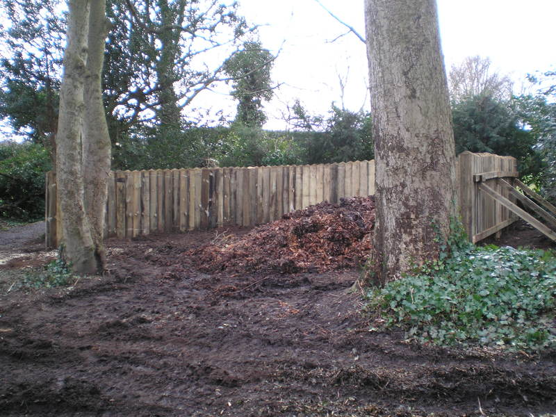 Large Compost Area - Completed