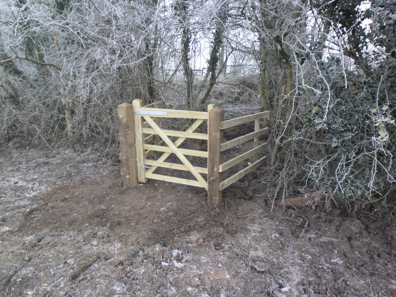 Potto Footpath, Gate and Fencing