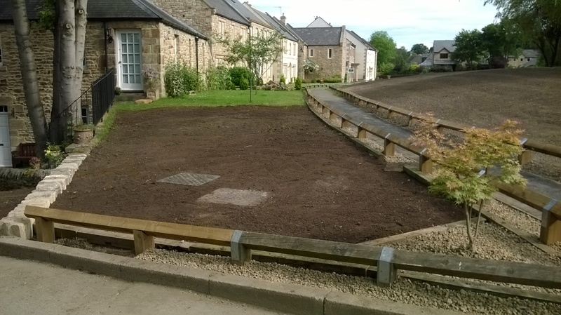 Shotley Bridge - Prepared for Turfing