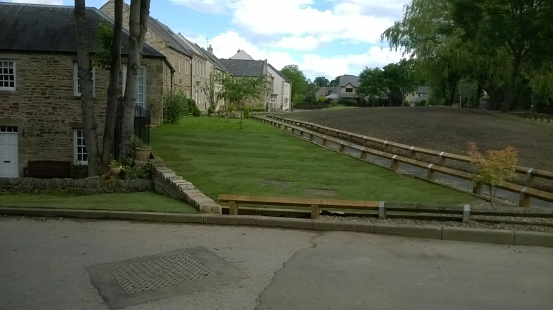 Shotley Bridge - After Turfing