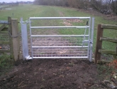 Leeds - Steel Footpath Gate